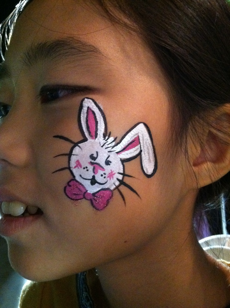 Simple Easter Face Painting Ideas 1000+ images about rabbit face paint ...