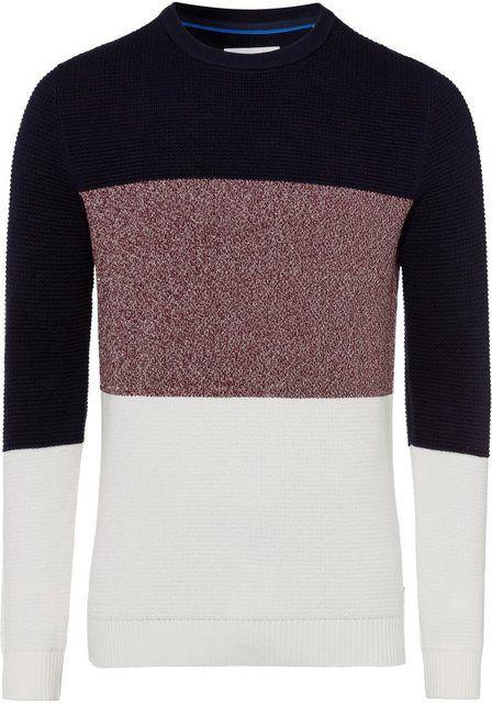 Strickpullover mit Streifen | Pullover, Pullover männer und