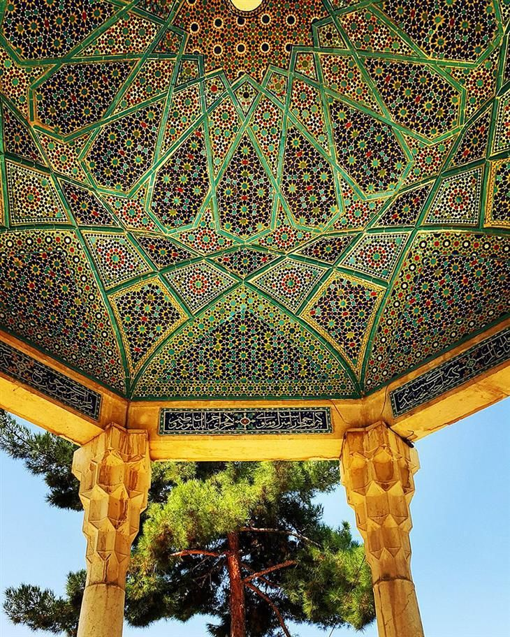Mesquitas do irã - Tumba de Hafez, em Xiraz