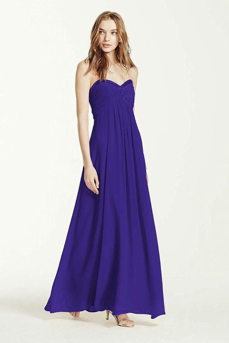 Perfecto Vestidos De Dama Davids Ideas Ornamento Elaboración ...