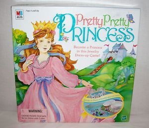 Pretty Pretty Princess game .. One of my ALL time favs