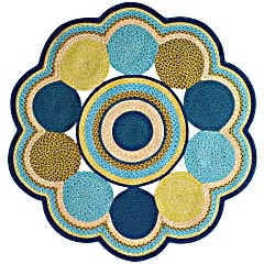 maybe...Colors Pallets, Round Rugs, Yoyo Braids, Outdoor Rugs, Pier One, Patios Rugs, Braids Rugs, Cove Yoyo, Catalina Cove