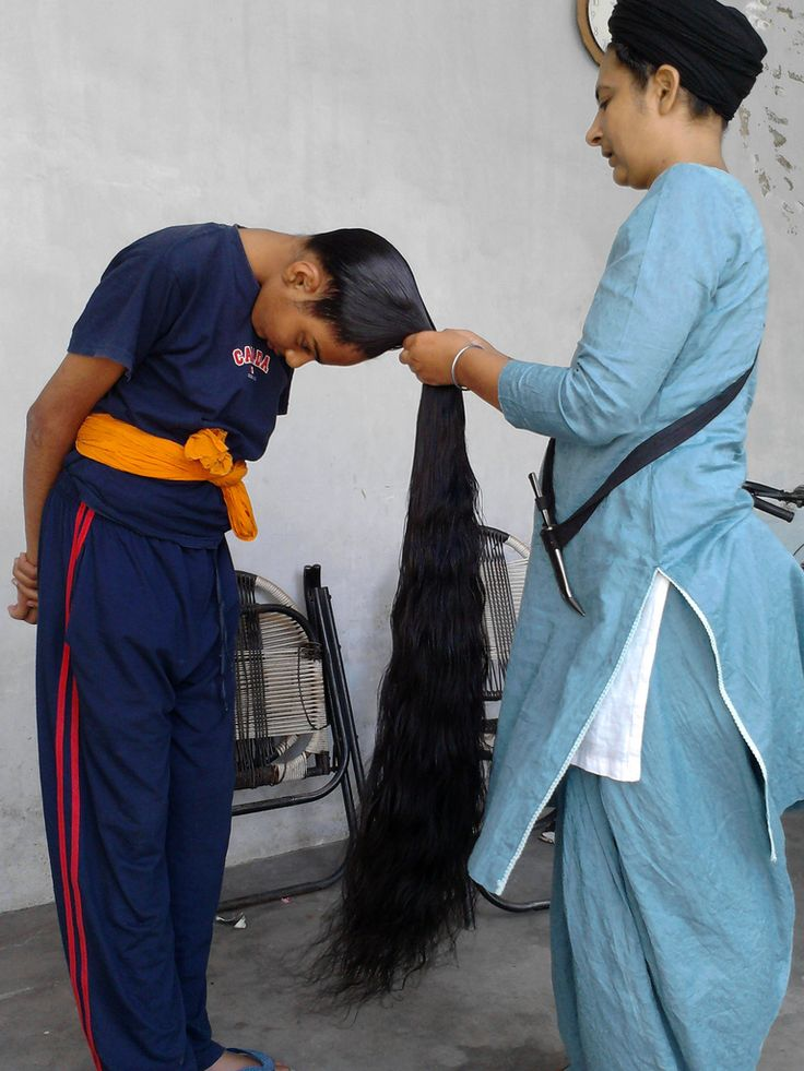 Sikh with long hair | Men With Long Long Hair | Pinterest ...