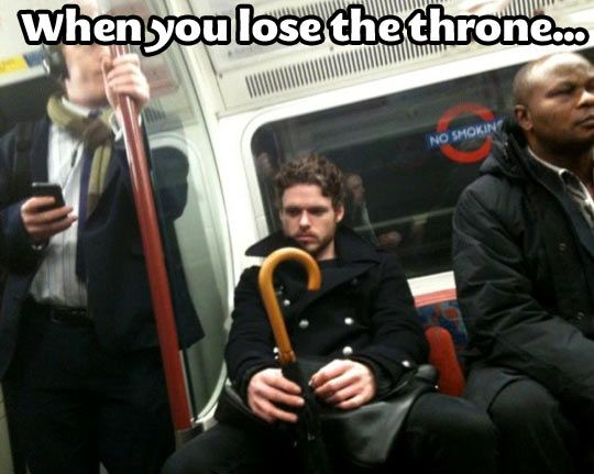 After you lose the throne...