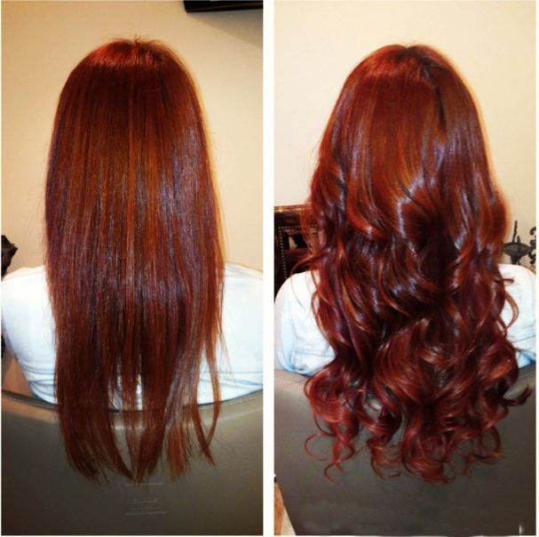 You don't need to dye your hair immediately if you want to change your hairstyle, coz healthy texture human hair extension can make you have an awesome hairstyle. This is a healthy way to protect your originate hair. #HairExtension #Hair
