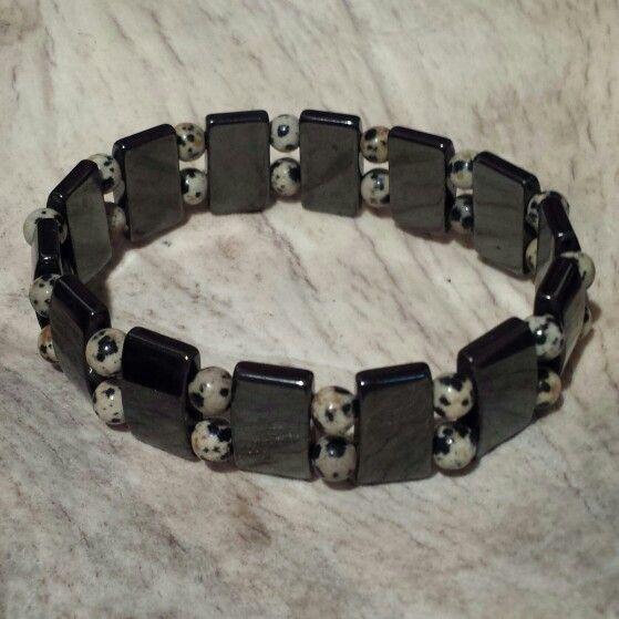 Zebra Jasper & Magnitite with Hematite