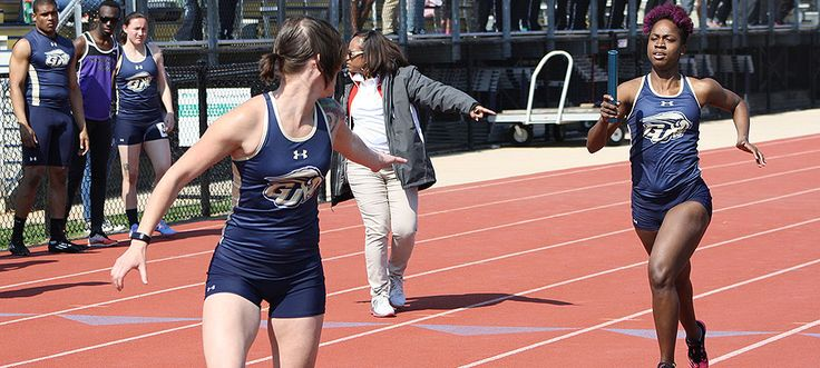 """""""The Gallaudet University women's track and field team won its own invitational on a picture perfect spring Saturday at Thomas O. Berg Track. The Bison defeated Montgomery College, 45-18, in the first home meet of the season. """" Click above to read more about it."""