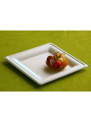 "ECOW 8"" SQUARE PLATE"