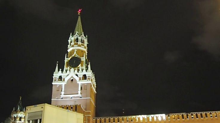 Январская Красная площадь - вечер (January Red Square - evening).