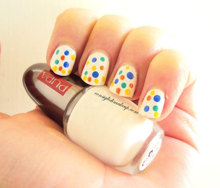 Consigli di Makeup: NOTD: I Love Polka Dot - Pupa Milano