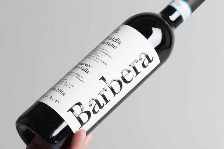 Barbera Marrone Sofia — The Dieline - Branding & Packaging