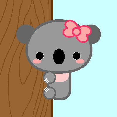 Kawaii Koala Bear by ~GoodCharlotte81