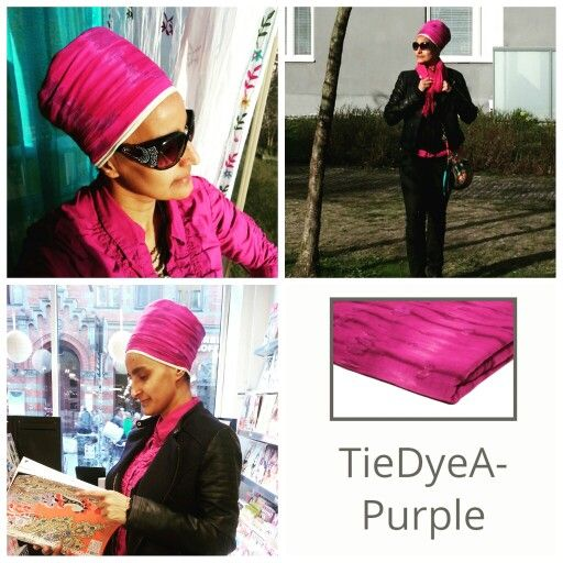 "The very first color turban that I fall in love with when I was asked to model turbans from the www.gosikh.com website - tie dye purple.   Good news!!! To save 10% on your entire order, please use coupon code ""TURBANCHIQ"", we will also donate another 10% to WFP, world food program."
