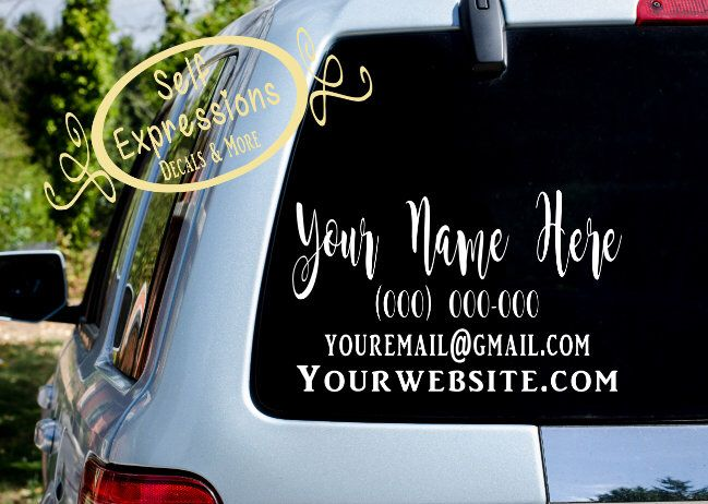 Pin By Self Expressions Decals More On Car Decals Window