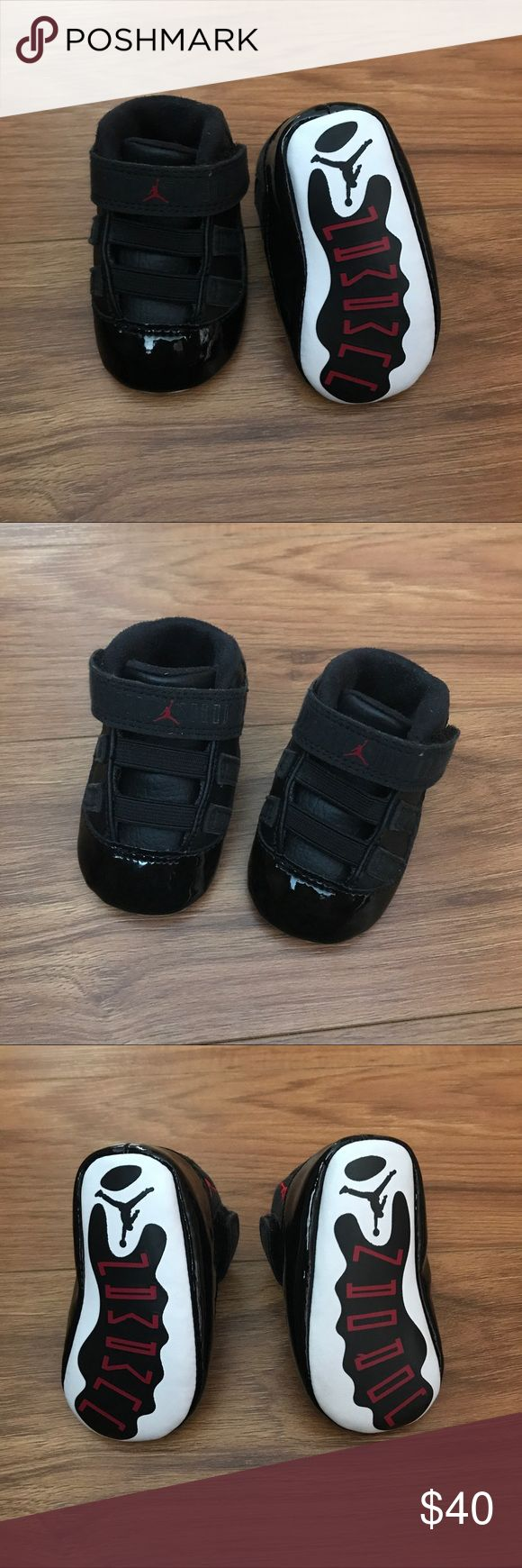 SALEJordan 1C Infant Shoes $35 IS MY LOWEST! Worn by a non-walking infant. Look brand new! Jordan Shoes Sneakers
