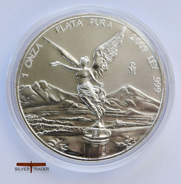 2009 Mexican Libertad 1 Ounce Silver Bullion Coin 1