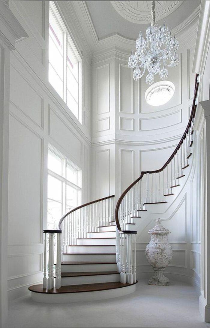 ▷ 50+ Bilder Und Ideen Für Treppenaufgang Gestalten | Ideen Architektur |  Pinterest | Landhäuser, Treppe Und Klassisch