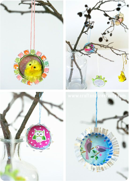 Recycling of tealight cups - by Craft & Creativity