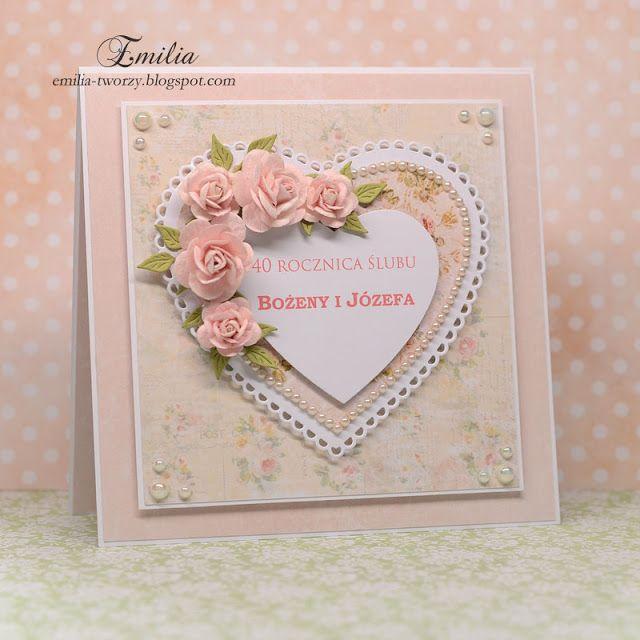 Kartka rocznicowa//Wedding anniversary card