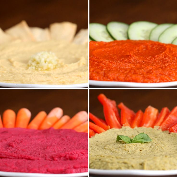 Make The Yummiest Snacks Ever With These Homemade Hummus Recipes
