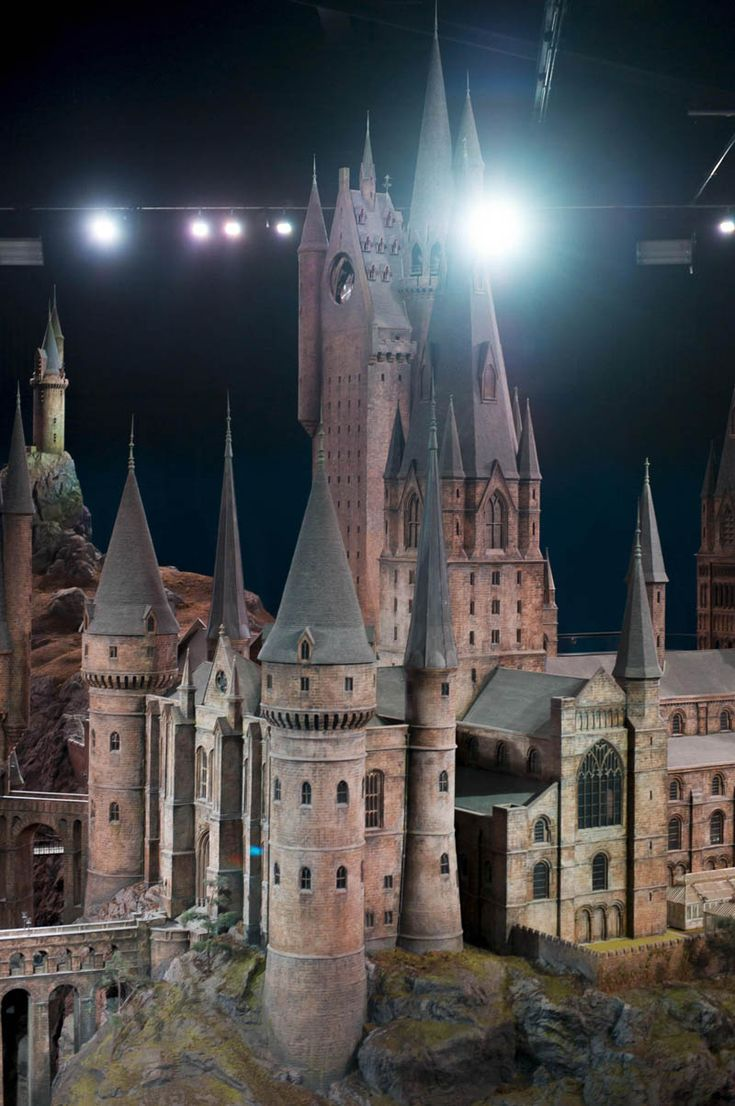 Real Life Hogwarts Castle Scale Model 5 Geeking Out