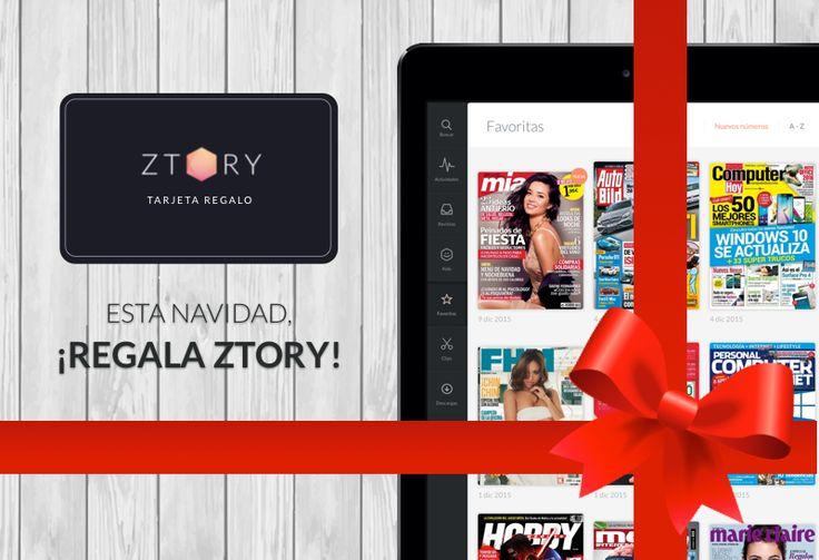 ¿Aún sin #regalo de #Navidad? ¡Que no cunda el pánico! Ztory está aquí para ayudarte. ¿Qué te parece regalar 3, 6 o 12 meses de #lectura sin límites? ¡#FelizNavidad! https://www.ztory.com/es/give-ztory