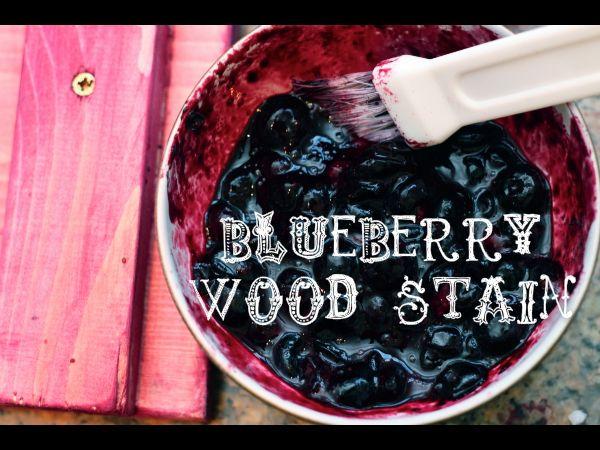 DIY Natural Wood Stains (vinegar, blueberries, pennies, coffee, steel wool, etc.)