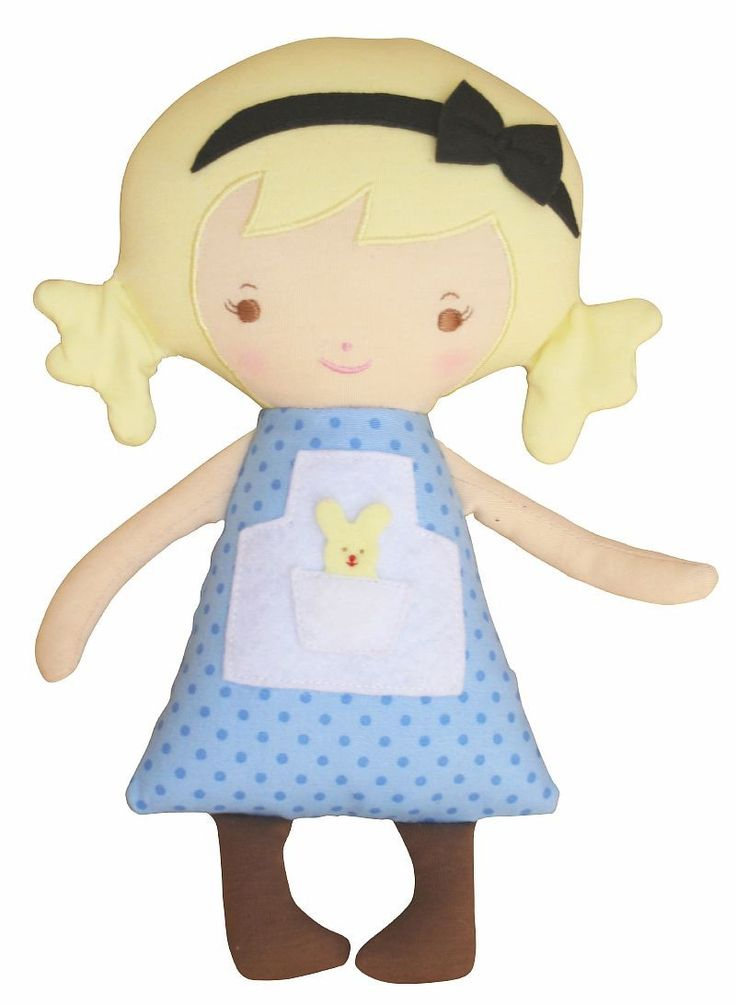 Alice Lil' Woodland Friends Doll available at www.motherbabystore.com.au by Alimrose Designs