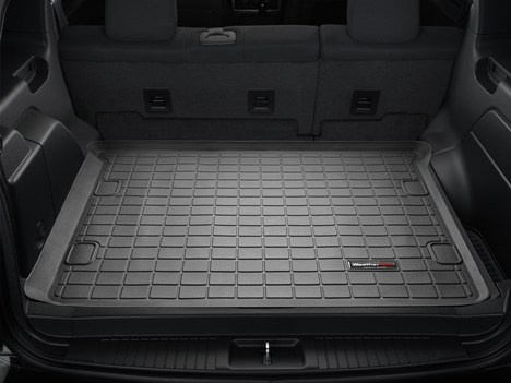 Jeep Liberty Cargo Liner by WeatherTech. Keep the rear area of your vehicle protected. Available in black, tan or grey colors, and in various model years.