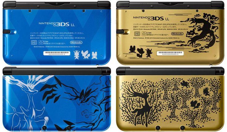Nintendo Pokemon X/Y 3DS LL (XL)
