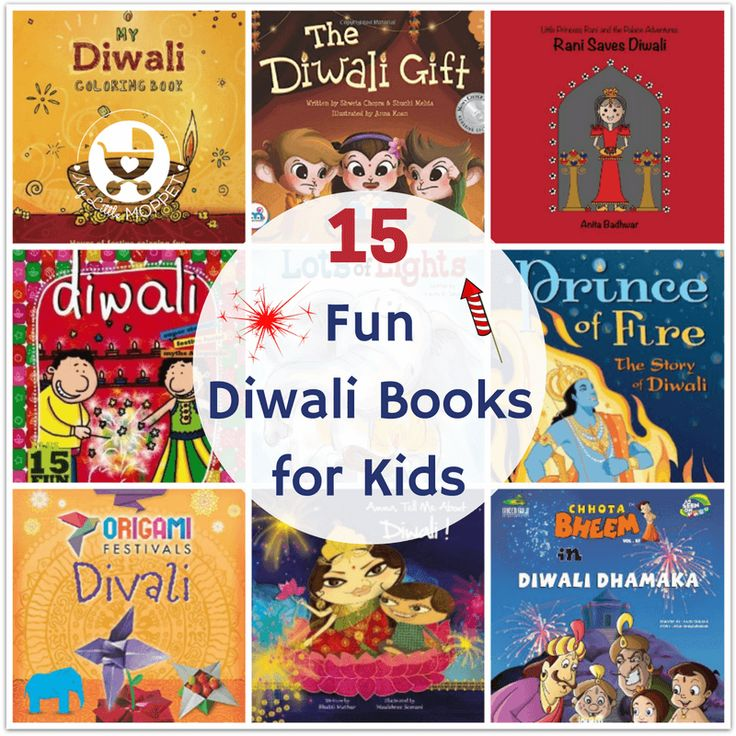 15 Fun Diwali Books for Kids of all Ages