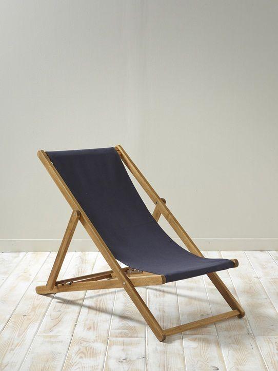 Les 25 meilleures id es concernant transat chaise longue for Chaise longue en bois et toile
