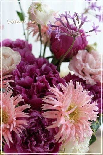 【今日の贈花】お誕生日のお祝花 Flower note の 花日記