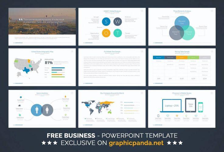 18 best PowerPoint Design images on Pinterest Editorial design - professional business plan