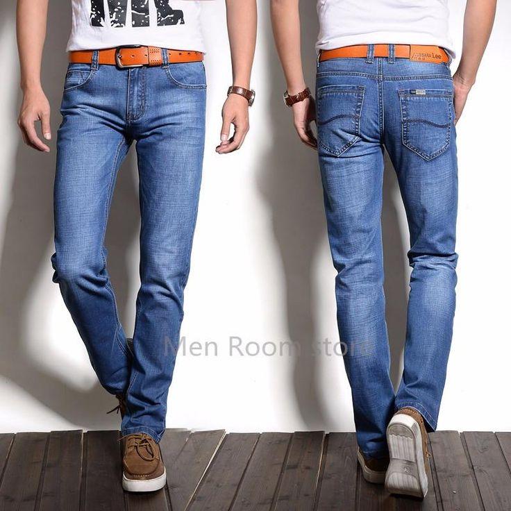 new Designer Classical Fashion Brand Jeans Men,Brand Men Straight Jeans,High Quality blue Color Jeans For Men