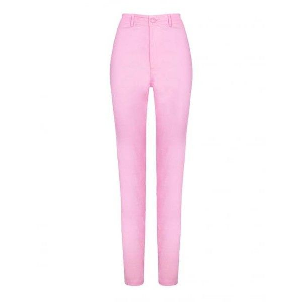 Collectif Mainline Maddie Plain Jeans ($43) ❤ liked on Polyvore featuring jeans, rockabilly jeans, white jeans and collectif
