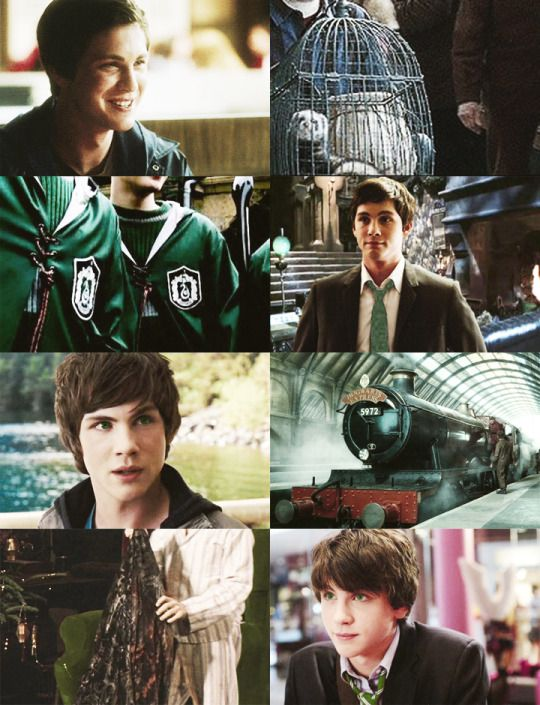 next generation dreamcast: logan lerman as albus severus potter