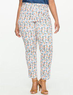 Fashion Bug Plus Size Printed Denim Jeans #FashionBug #PlusSize #Jeans www.fashionbug.us