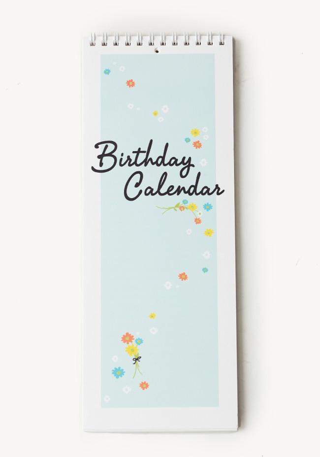 Perpetual Birthday Calendar at #Ruche @shopruche