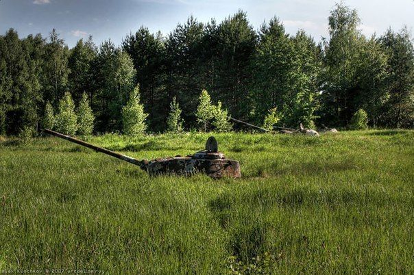 Abandoned Tanks Occupied by Nature and Time - Abandoned Places