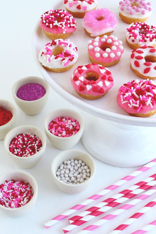Valentine's Day doughnuts that are fun to bake and ...