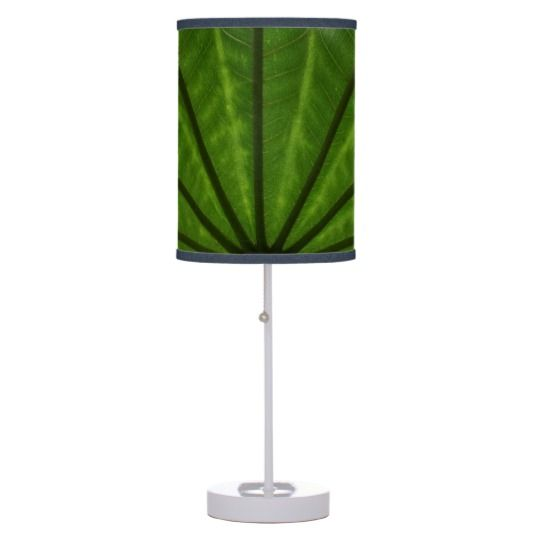 #zazzle #home #office #night #light #gift #giftidea #Green #Plant #Table #Lamp