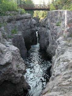 Temperance River on Minnesota's North Shore, between Schroeder & Lutsen.  One of my favorite places to hike.