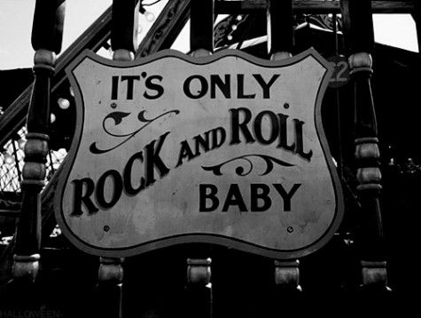 it's only rock and roll baby | Standing Elements