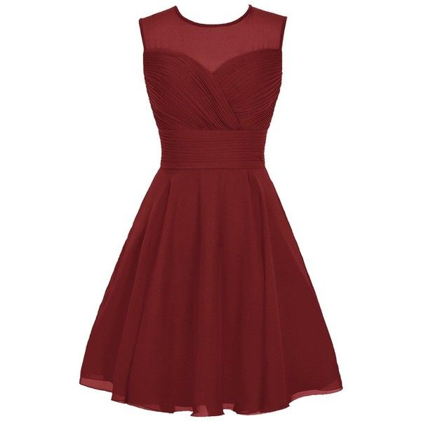 Wedtrend Women's Short Tulle Sweetheart Homecoming Dress Bridesmaid... ($95) ❤ liked on Polyvore featuring dresses, homecoming dresses, short dresses, tulle cocktail dress, red sweetheart dress and red bridesmaid dresses