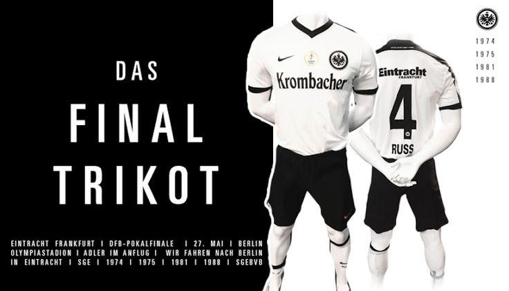 Eintracht Frankfurt 2017 DFB Pokal Final Kit Released - Footy Headlines