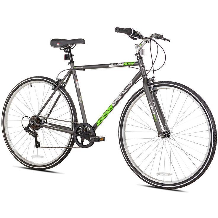 Adult Kent 700c Front Runner Bike, Black