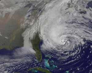 Hurricane Sandy and the Water Dragon