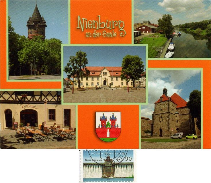 DEU-17045 - Arrived: 2017.07.17   ---   Nienburg  is a town and capital of the district Nienburg, in Lower Saxony, Germany. This is the largest town in the Middle Weser Region.