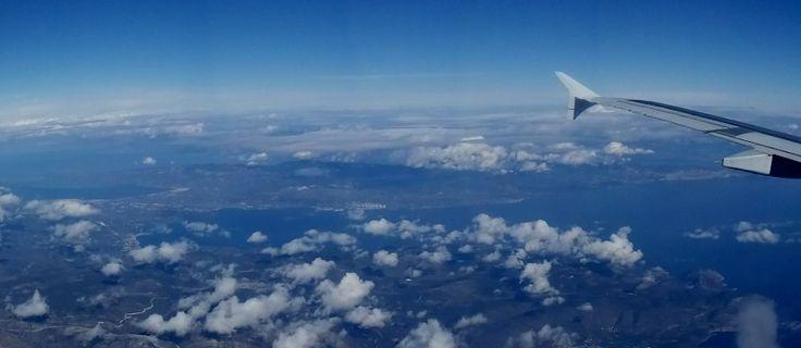 Flying over Grece